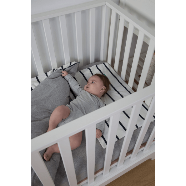 Childhome sengetøj 100 x 140 cm - marin