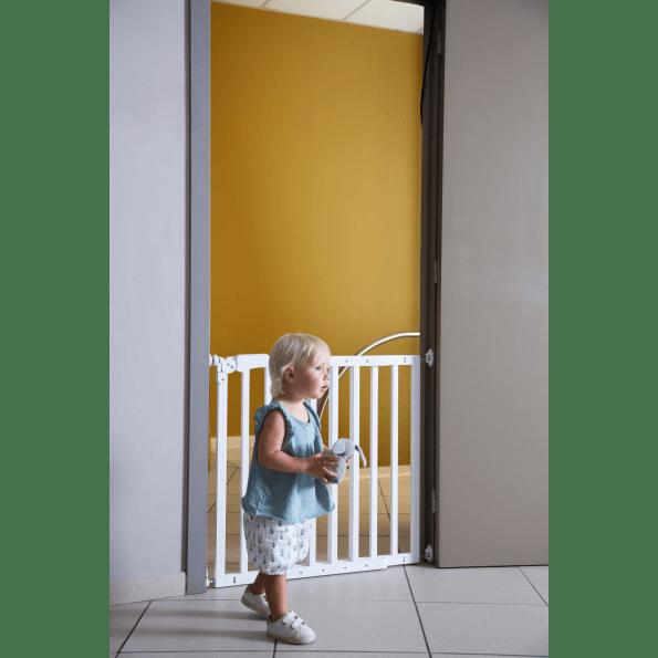 Childhome Maestro sikkerhedsgitter - hvid