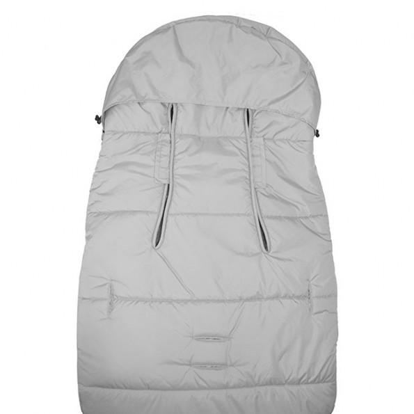 Vinter & Bloom Chic kørepose - Silver Grey
