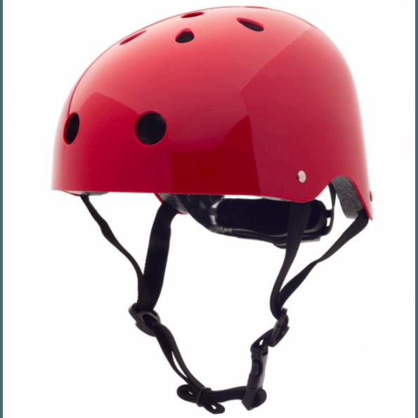 TRYBIKE CoConuts Cykelhjelm - Rød, str. S