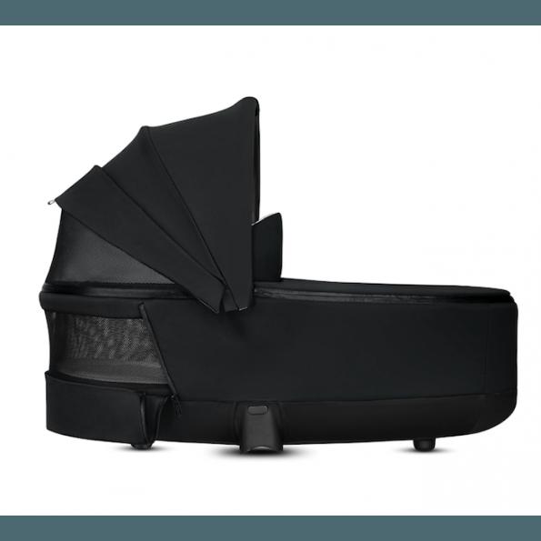 Priam Lux Carry Cot - Premium Black