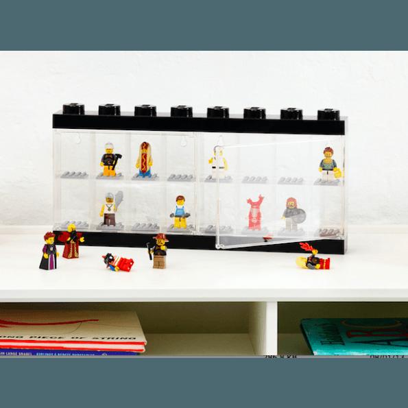 LEGO Minifigure Display Case - 16 Figurer - blå
