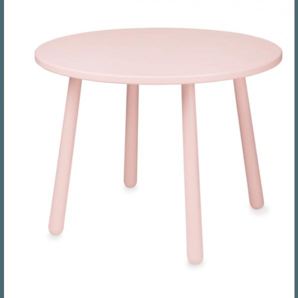 Cam Cam hjerte børnebord - Blossom Pink