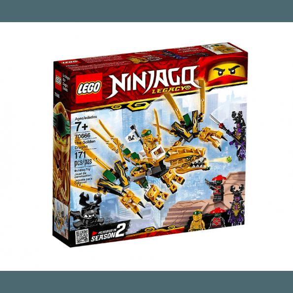 LEGO Ninjago, Den gyldne drage - 70666
