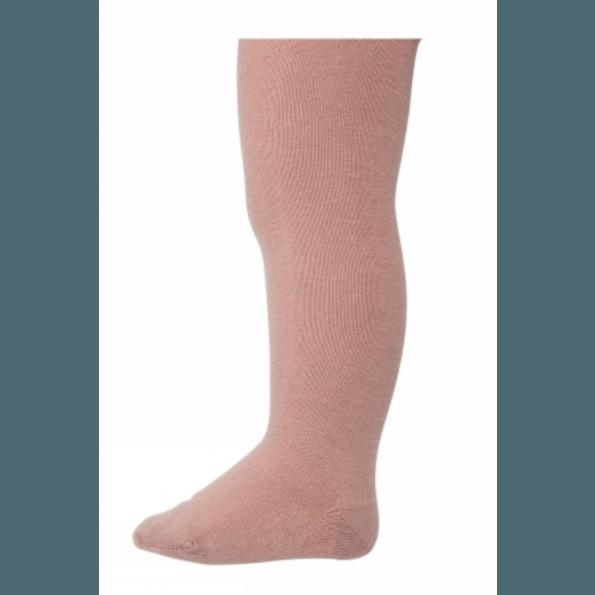 mp Denmark strømpebukser i uld/bomuld - Wood Rose