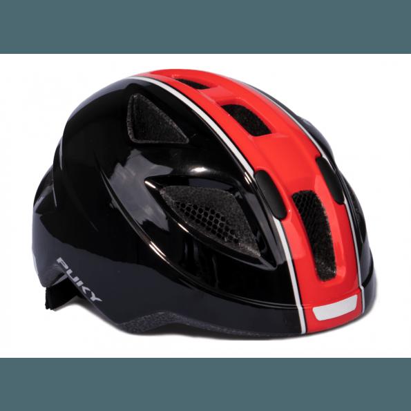 Puky PH 8-M/L Cykelhjelm - sort/rød