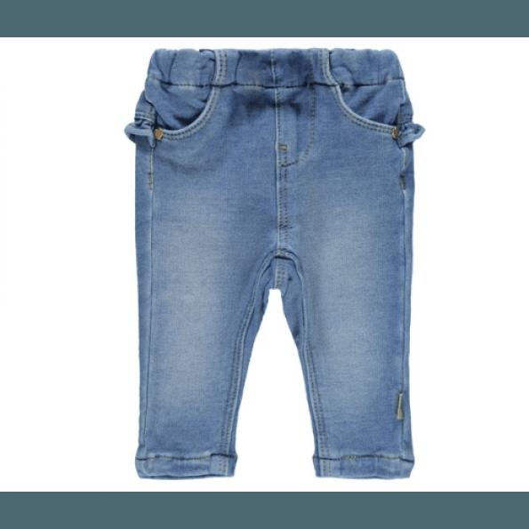 Name It denim leggings - lyseblå