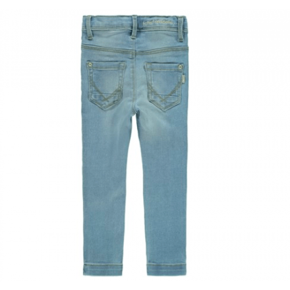 Name It denim bukser - lyseblå