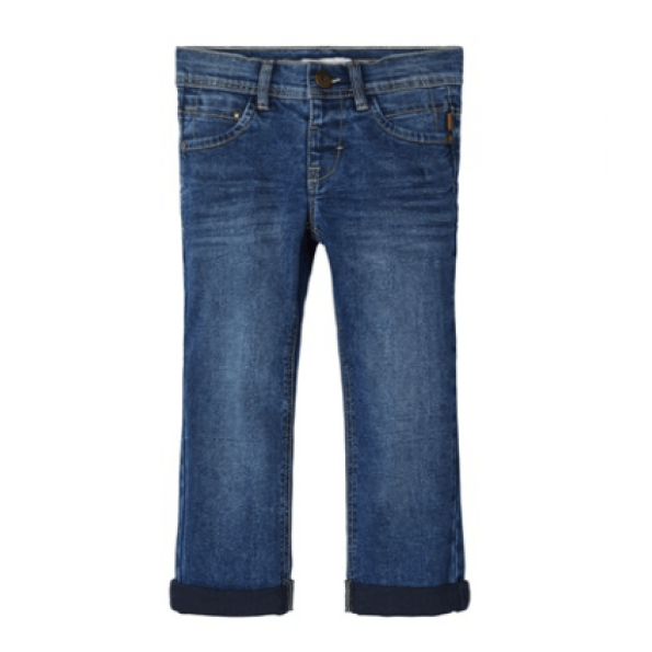 Name it bukser - mørkeblå denim