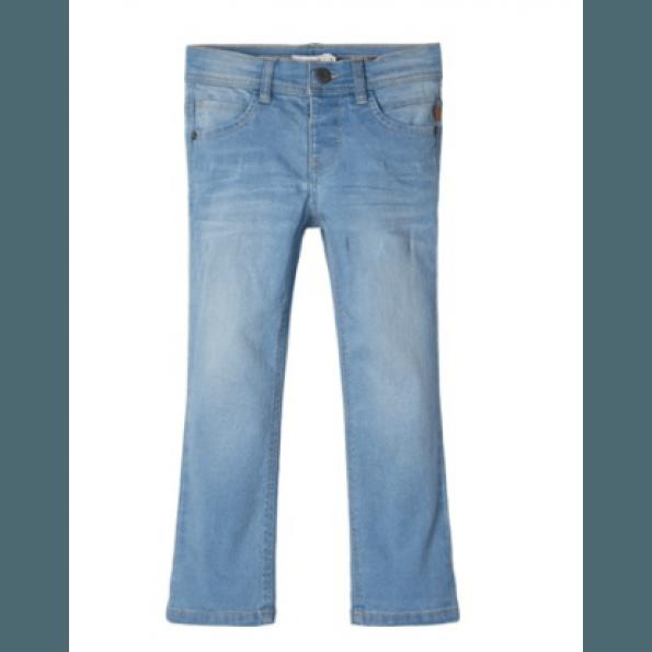 Name it bukser - lyseblå denim