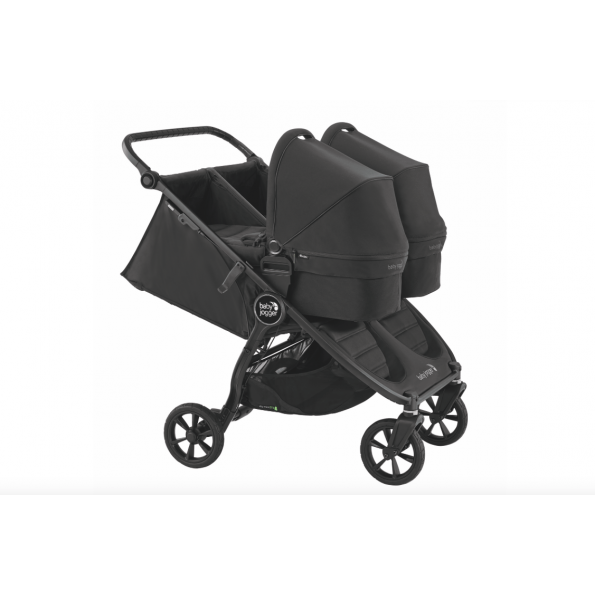 Baby Jogger City Mini GT 2 Double søskendevogn - Carbon 2020