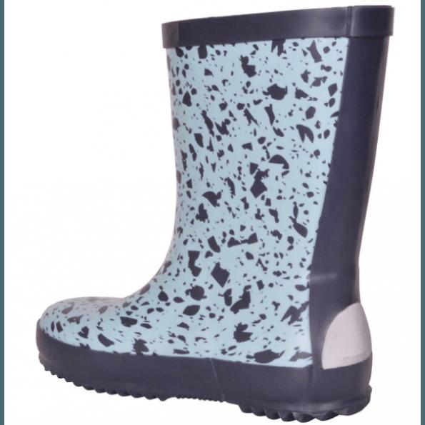 Mikk-Line gummistøvler wellies - silver blue