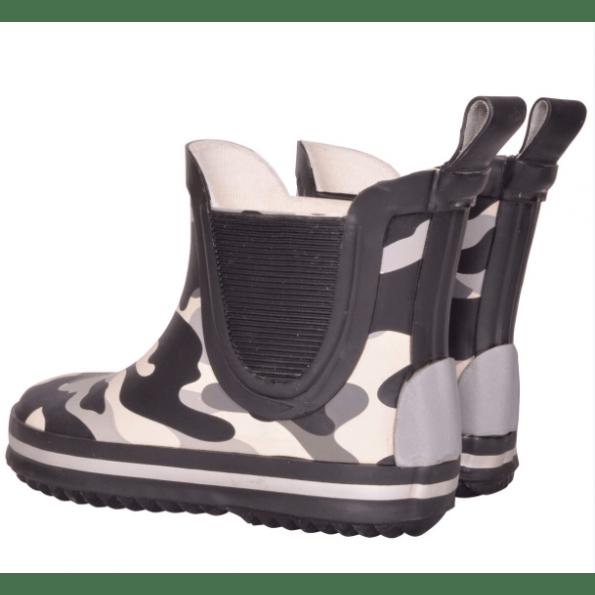 Mikk-Line gummistøvler short wellies - black
