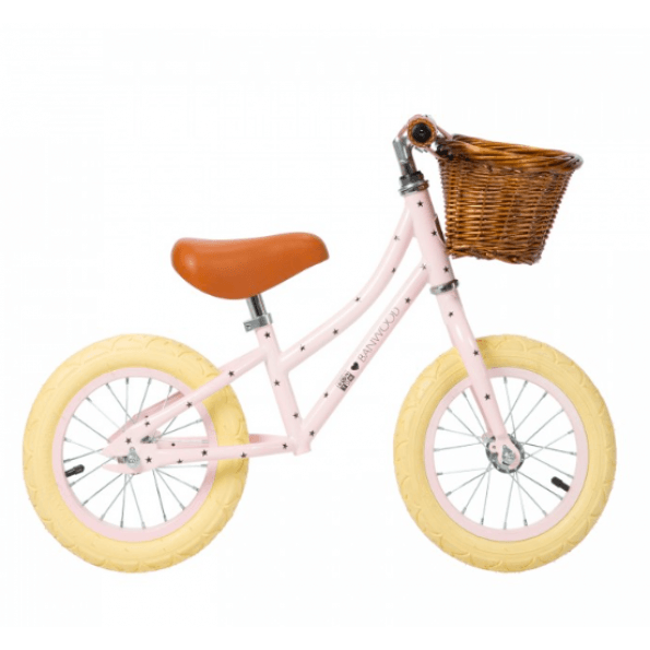 Banwood løbecykel, first go - matte pink