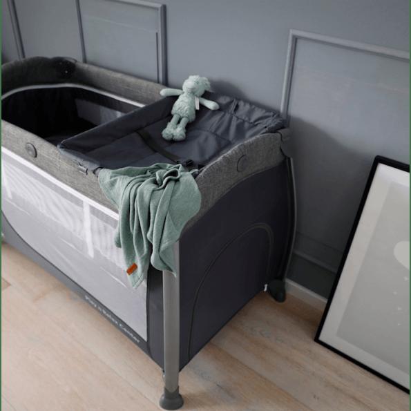 Hauck Play N Relax Center weekendseng - Melange grey