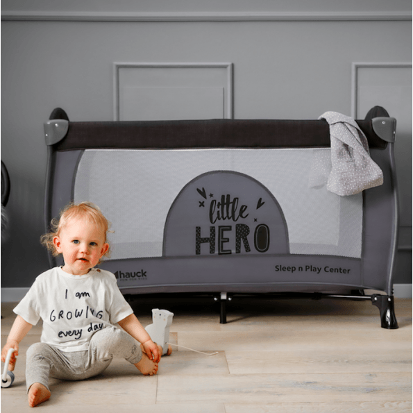 Hauck Sleep N Play Center weekendseng - Little Hero