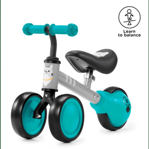 Kinderkraft Cutie mini balancecykel - turkis