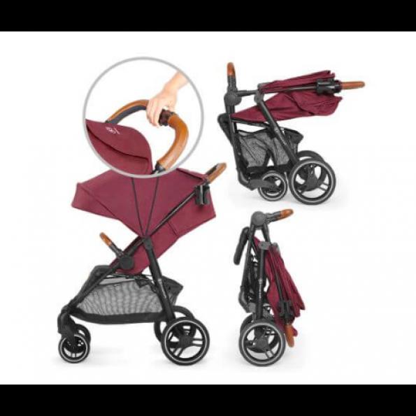 Kinderkraft Grande klapvogn 2020 - burgundy