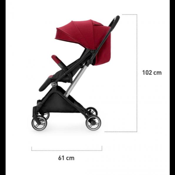 Kinderkraft INDY klapvogn - grey
