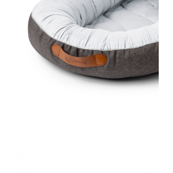 EcoViking prime collection babynest - grey melange