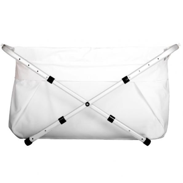 BiBaBad flexi badekar 60-80 cm. - hvid