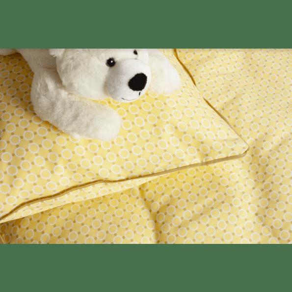 Night & Day bambino juniorsengetøj 100x140 - gul