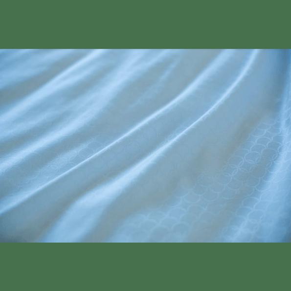 Night & Day opal babysengetøj 70x100 - lyseblå