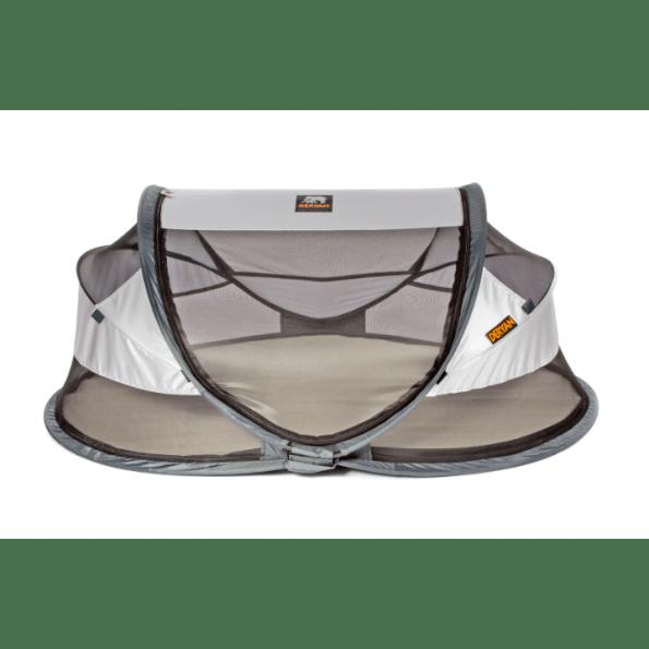 Deryan Baby Luxe pop-up rejseseng - silver