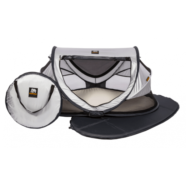 Deryan Junior Luxe pop-up rejseseng - silver