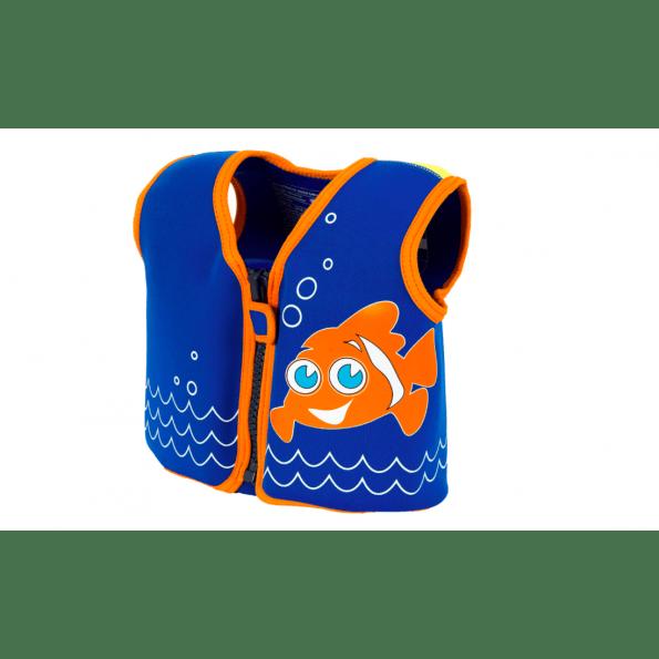 Konfidence svømmevest - blue/clownfish