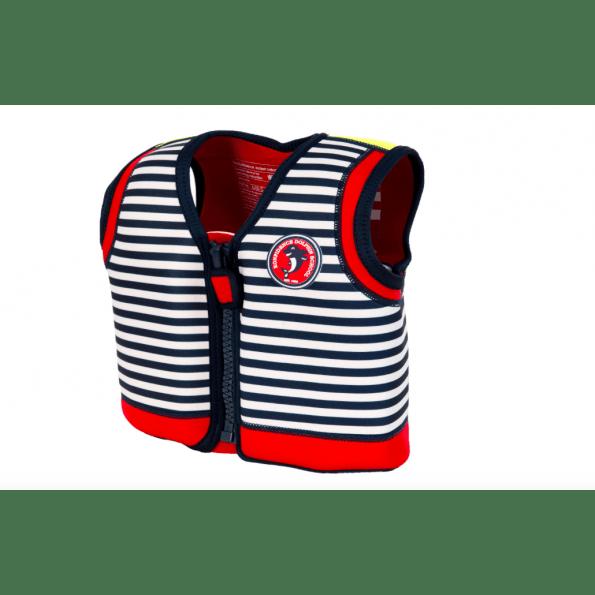 Konfidence svømmevest - navy stripe