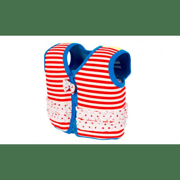 Konfidence svømmevest - red stripe