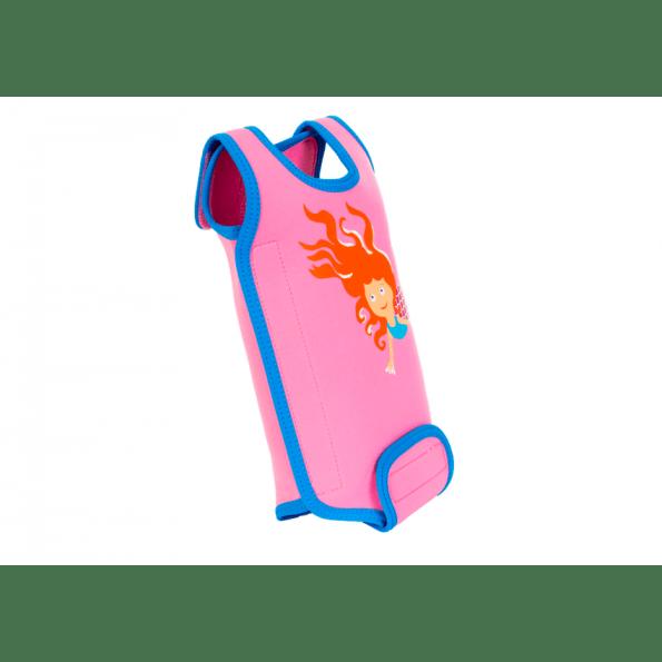 Konfidence babywarma våddragt - pink mermaid