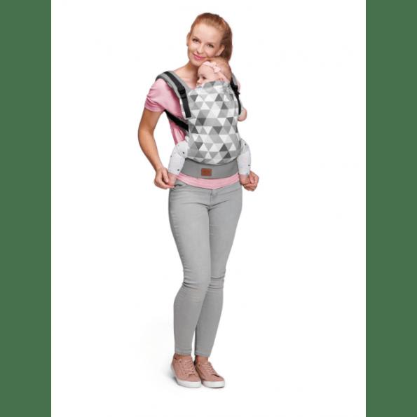 Kinderkraft Nino bæresele - grå