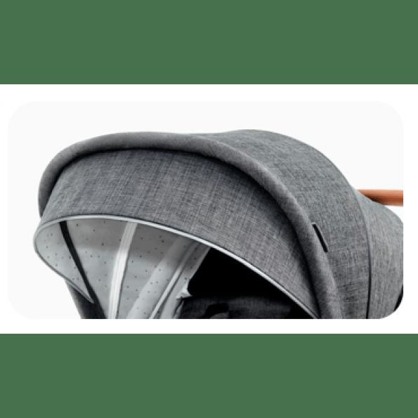 Kinderkraft PRIME 2in1 kombivogn 2020 - grå