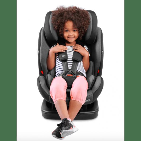Kinderkraft VADO autostol - sort