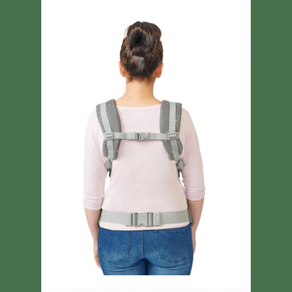 Kinderkraft Huggy bæresele - grå