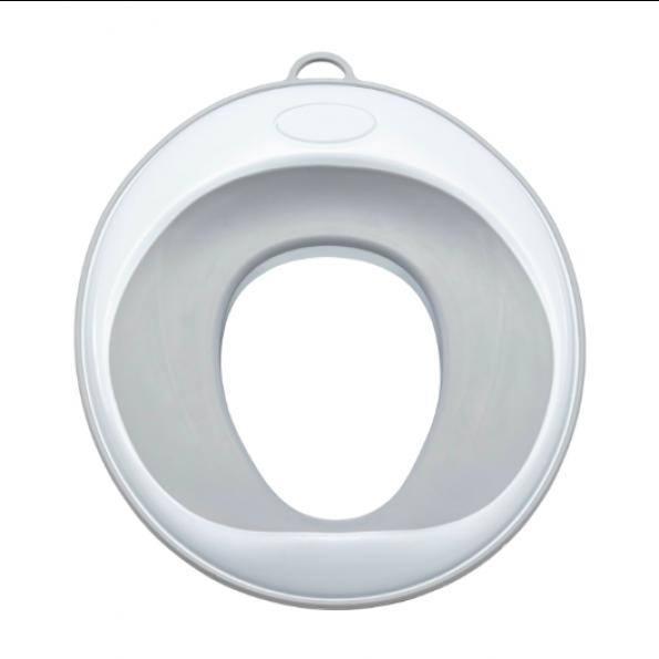 Tiny Republic Basic Toiletsæde - Hvid/Grå