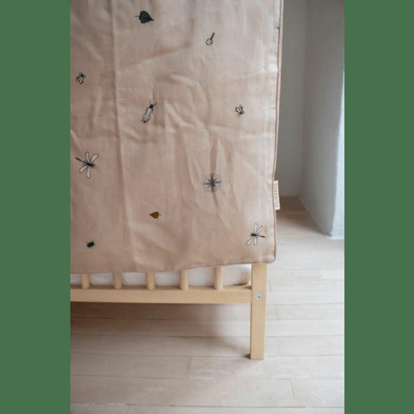 Filibabba Little Explorer Junior Sengetøj 100x140 cm. - Doeskin