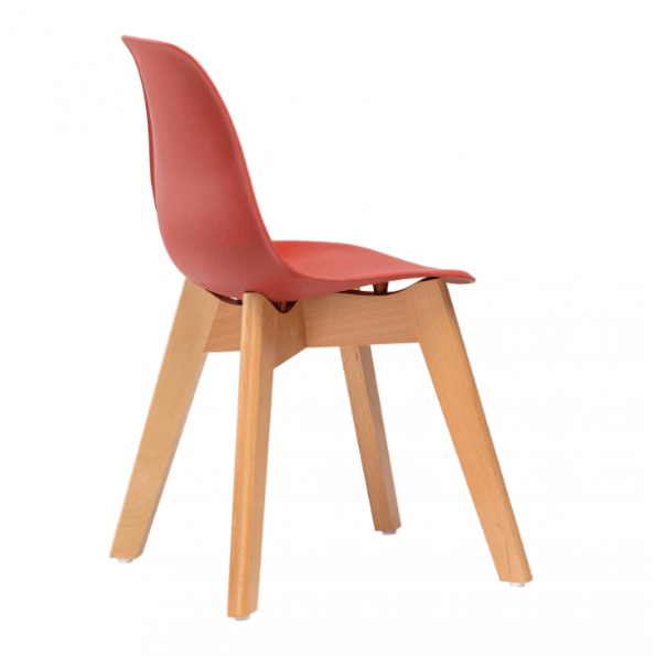 Tiny Republic Børnestol - Mørke Rød