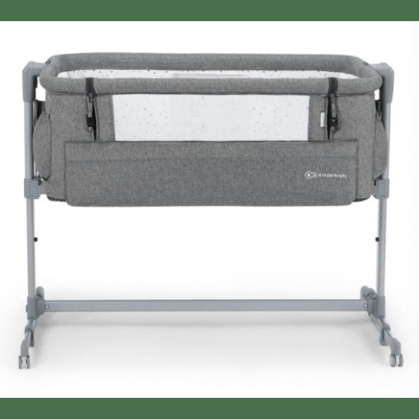 Kinderkraft Neste UP bedside crib - Melange Grå