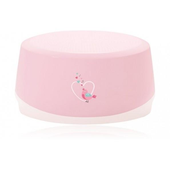 Baby Dan Sweet Birds skammel - Baby Pink