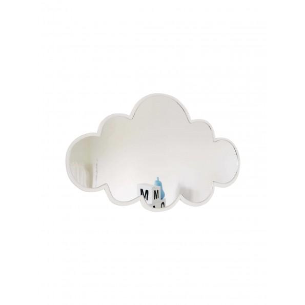 Maseliving - Sky spejl (hvid)