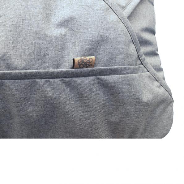 Sleepbag Kørepose - Grey melange