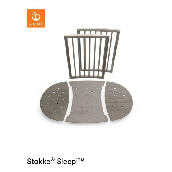 Stokke Sleepi forlængersæt - Hazy Grey