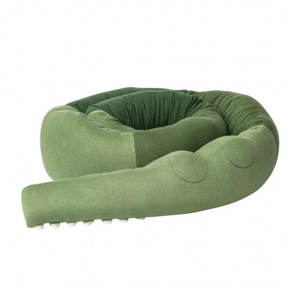 Sebra Sleepy Croc Strikket Pude XXL – Pine Green