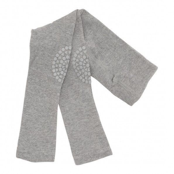 GoBabyGo leggings bomuld - Grey Melange