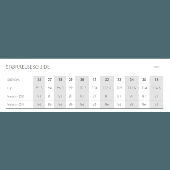 Mamalicious slim ventejeans – mellemblå denim