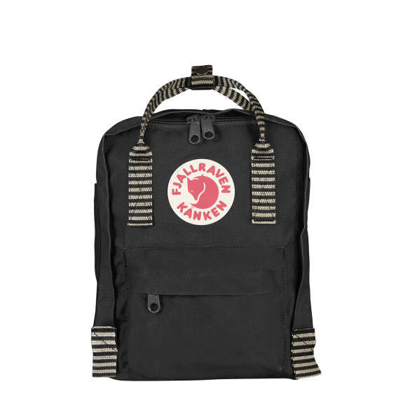 Fjällräven Mini Kånken Rygsæk - Black/Striped