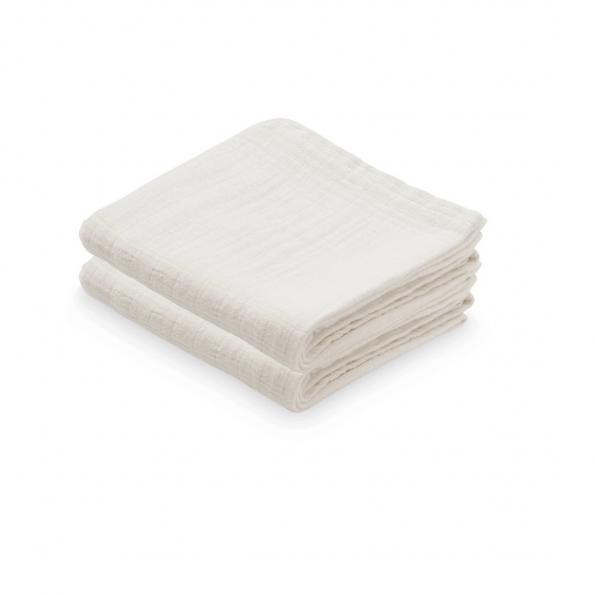 Cam Cam stofbleer 2-pak - creme white